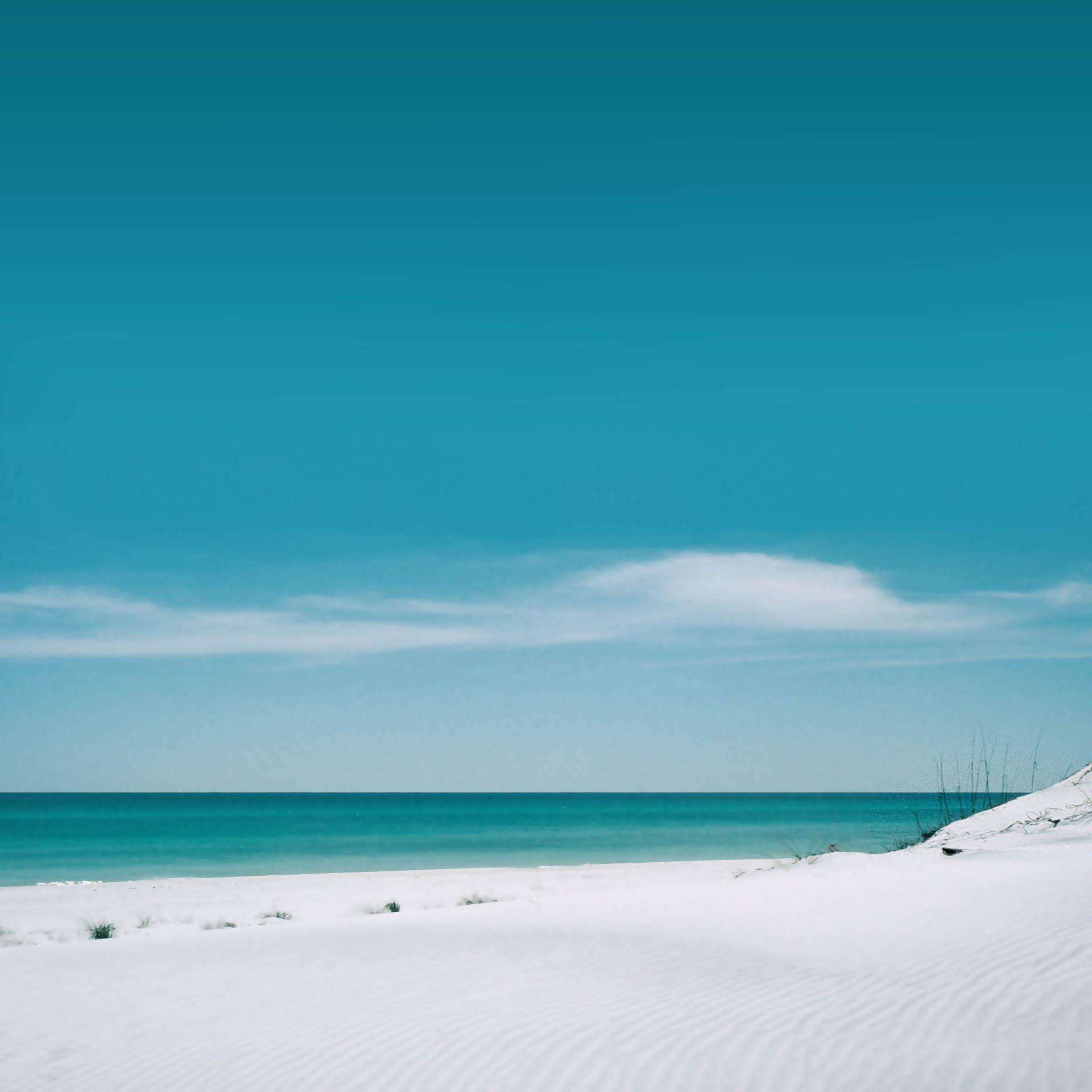 Sea and White Sand
